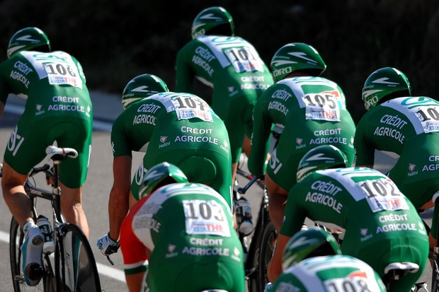 Credit Agricole was one of the ProTour teams not invited to the Giro
