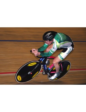 David O'Loughlin (Ireland) finished a very credible sixth overall in the men's individual pursuit