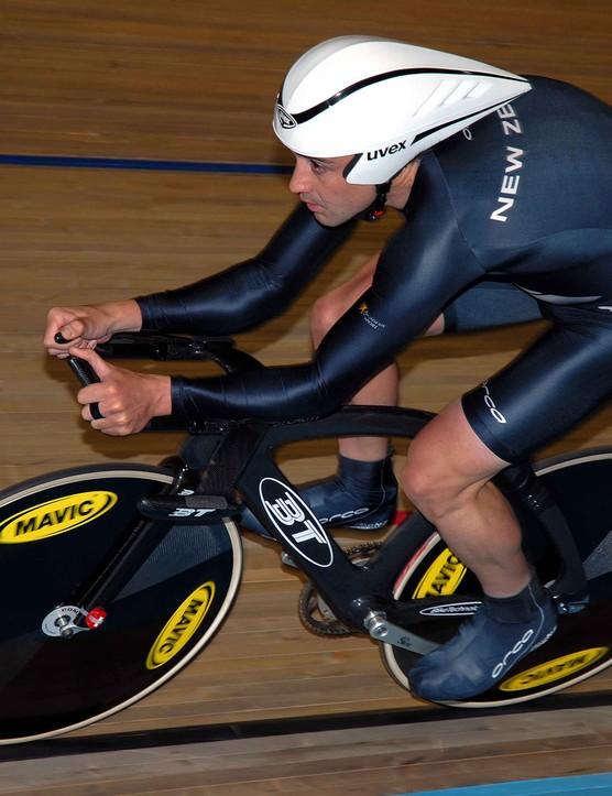Hayden Roulston (New Zealand) was unlucky not to make the podium