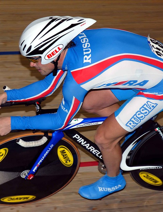 Alexi Markov (Russia) took a well deserved bronze medal in the men's individual pursuit