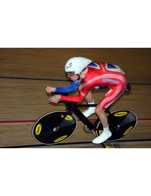 ...and defending world champion Bradley Wiggins (Great Britain)