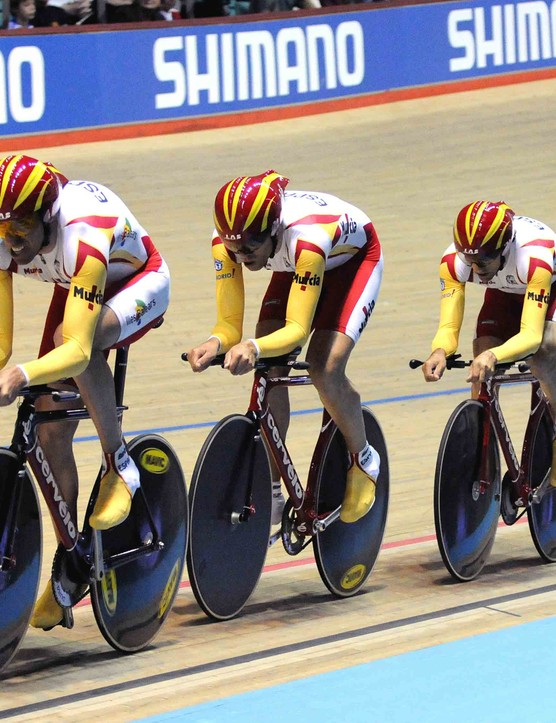 Spain finished seventh, just over half a second slower than the French squad.