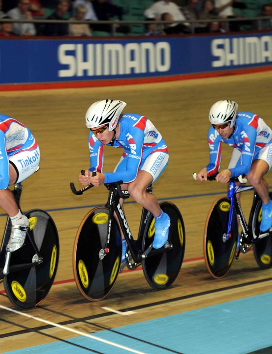 The Russian squad clinched fifth spot by a quarter of a second from France.