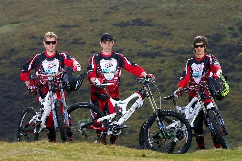 Team BikeRadar - Marc Beaumont, Will Longden, Neil Donoghue