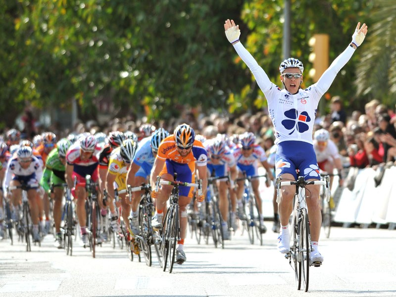 Philippe Gilbert wins the first stage of the Tour of Mallorca