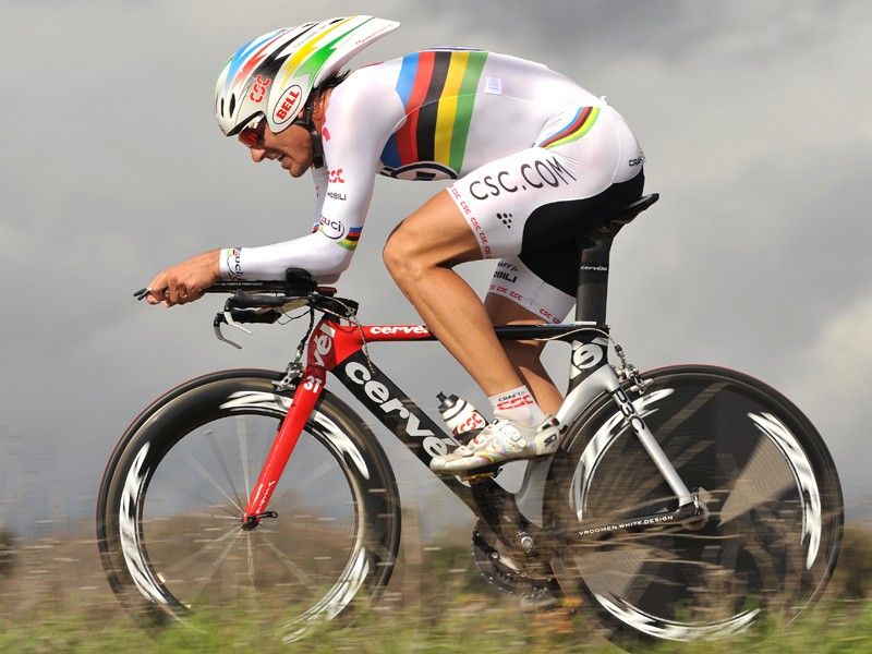 World time trial champion Fabian Cancellara knows about drag
