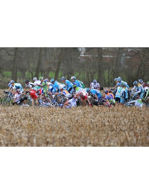 A crash puts a hole in the bunch