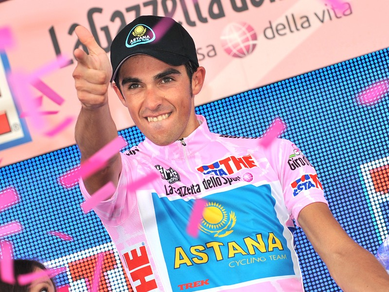 Alberto Contador has the Olympics as his next target