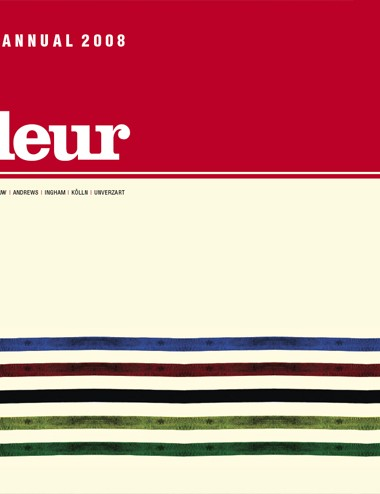 The cover of the 2008 Rouleur Photography Annual 2008 book.