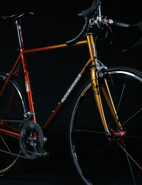 Factory Lightweight: IF's lightest road frame, based on the Crown Jewel