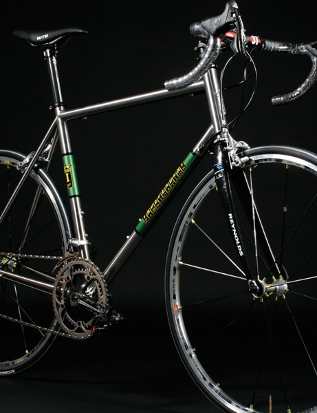 The SSR - top of the range steel bike made from Reynolds 953