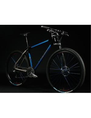 Ti version of the Deluxe mountain bike