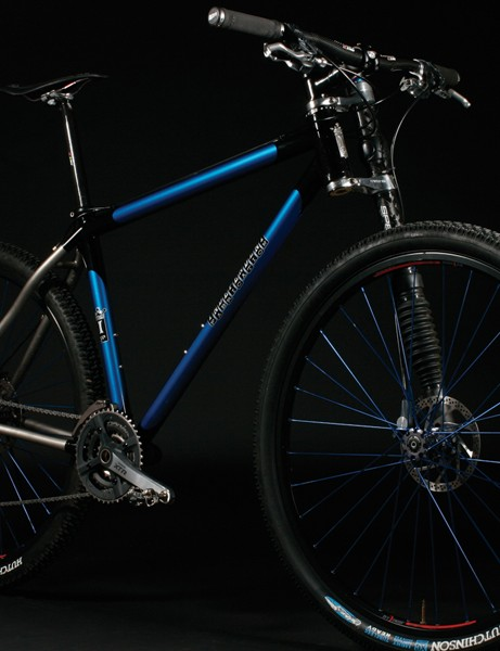 Ti version of the Deluxe mountain bike