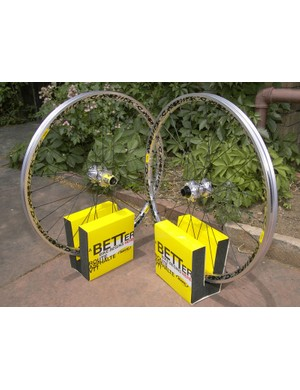Mavic's burly Deemax wheels drop up to 500g per pair from last year, depending on the configuration.