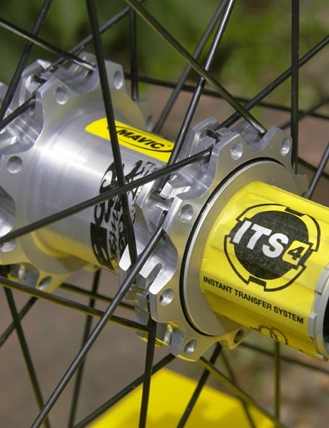 The rear hub sports new ITS-4 internals that engage more than twice as fast as the old FTS-X system.