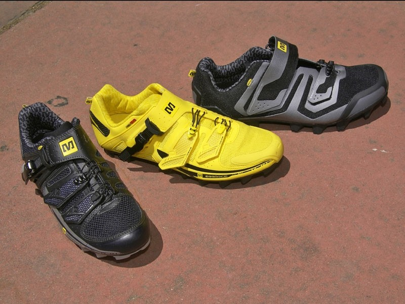 There will also be a full line of mountain bike shoes, too.