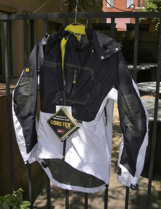 Mavic will also offer a comprehensive range of outerwear from ultra-lightweight shells to beefier models such as this one.