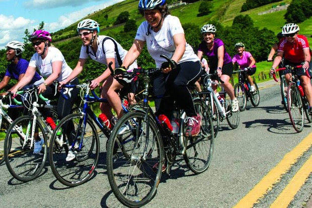 Initiatives such as the Breeze Champion network of ride leaders have helped get more women cycling