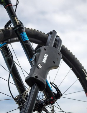 The 594Xt Sidearm can handle 29er wheels without issue