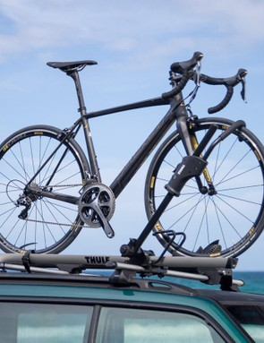 Don't worry, this rack is road bike friendly too