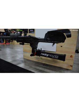 The big boom arm allows proper branding