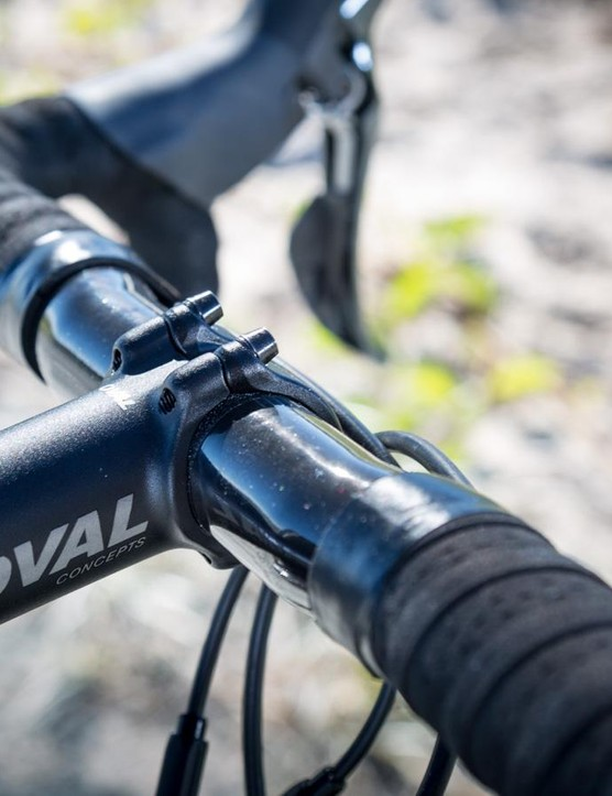 Oval claims the six-degree clamping angle created by its stem provides better clamping force with less torque