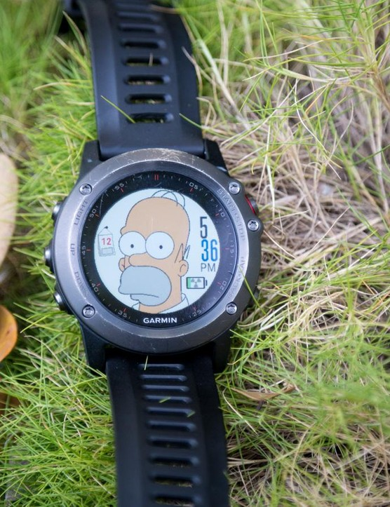 Homer agrees, the Fenix 3 suited to pretty much every outdoor activity