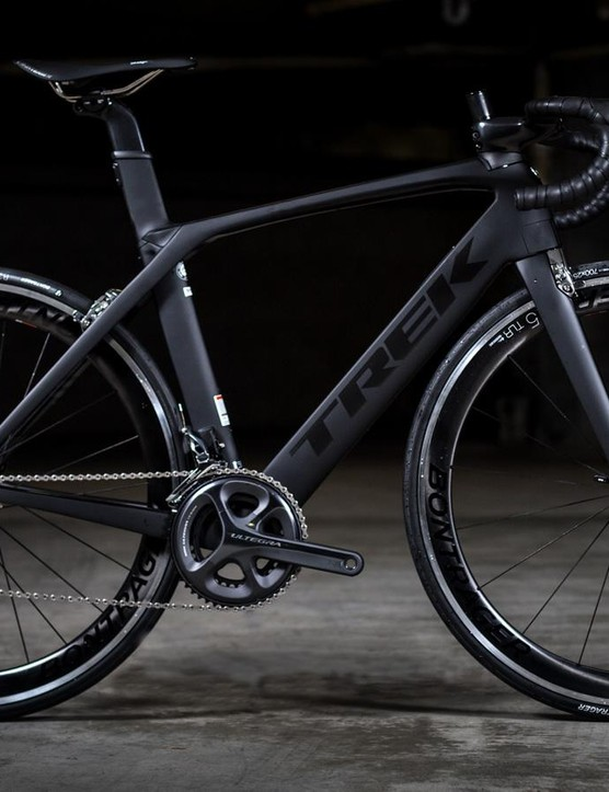 The Madone 9.2 has just received a new paint job and updated componentry