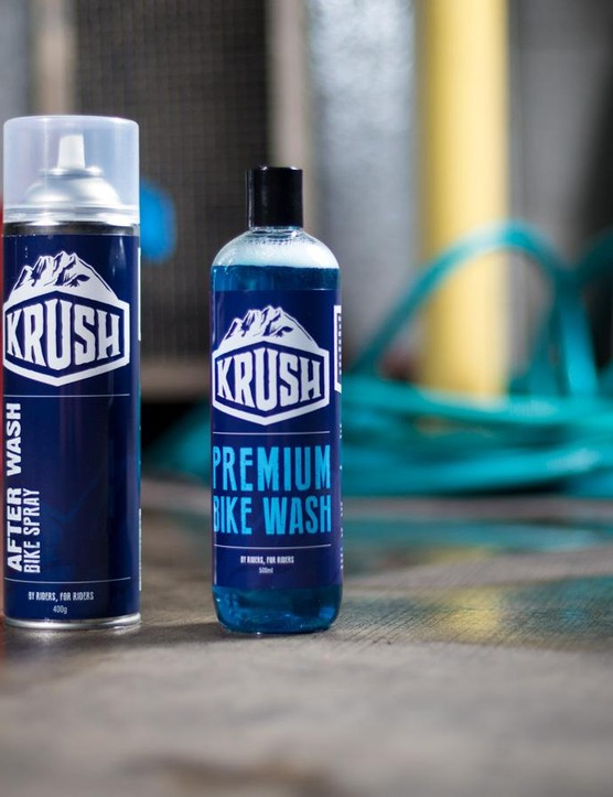 Krush is a new player in the bike cleaning game. It's based in Melbourne and all of its products are made in Australia