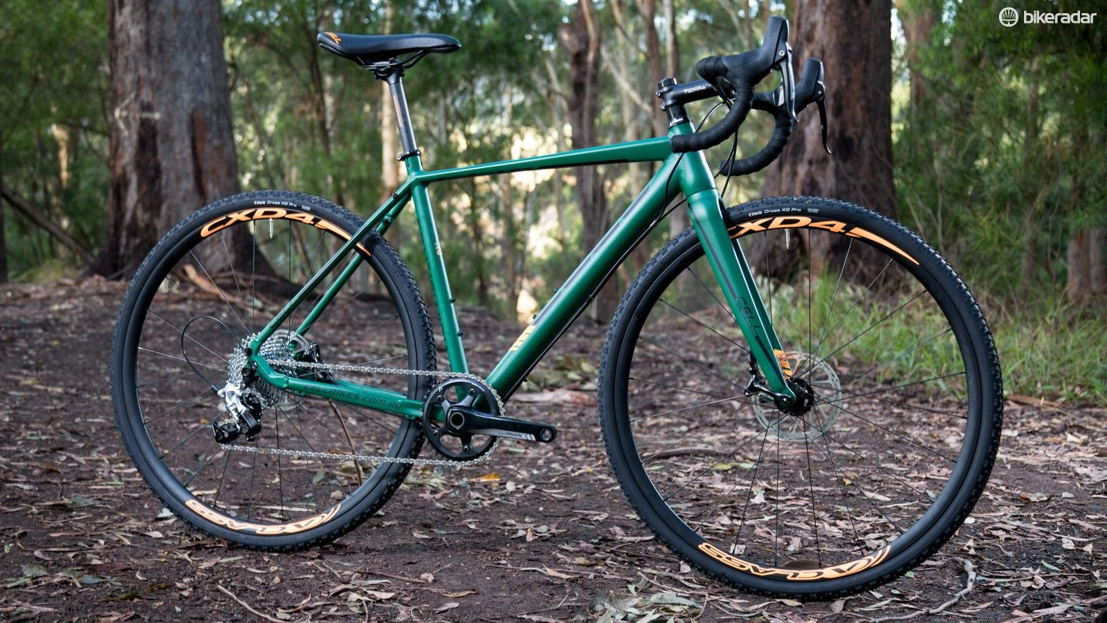 'Cross bikes bear a striking resemblance to road bikes, but they are much more capable