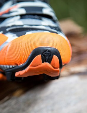Northwave switched from Vibram to Micheline rubber for the soles of its MTB shoes