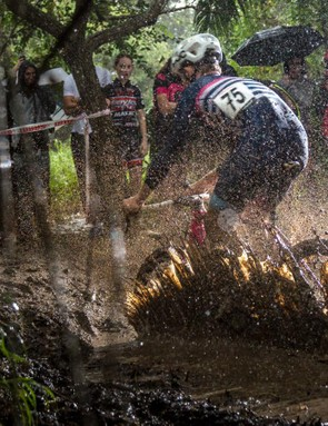 This writer's favorite part of CX racing is the mud