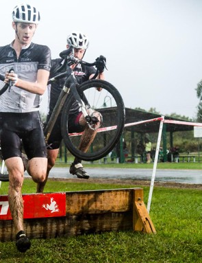 'Cross racing is a bit like running an obstacle course but with a bike in tow