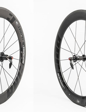 The all-new clincher version of DT Swiss' RRC65 DICUT wheelset