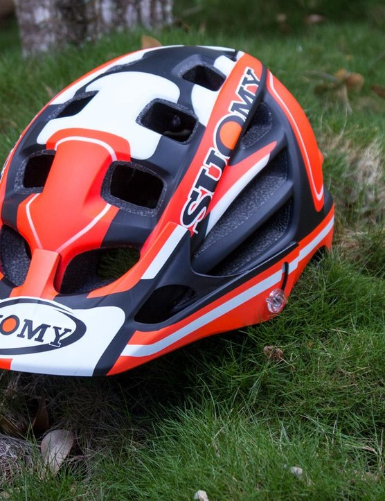 True to its heritage, Suomy's Scrambler MTB helmet sees motocross inspired styling