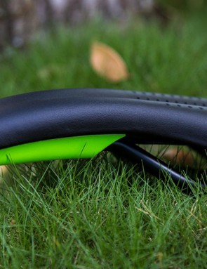 The dropped nose and softer memory foam make riding up on the nose of the saddle a bit more comfortable