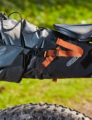 Ortlieb's super tough waterproof seat pack allows you to pack plenty of junk in your trunk