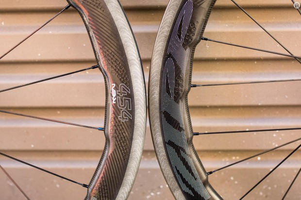 The Zipp 454 NSW is quite a departure from tradition rim design