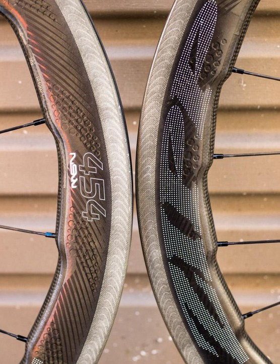 Zipp's NSW 454 wheels were inspired by whales, and have some big claims behind them