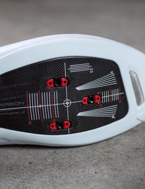 The super stiff carbon plate is surrounded by plastic which offers awesome protection