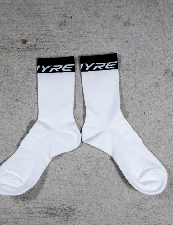 We're a little dubious of the performance claims Shimano makes about the S-Phyre socks, that said they're pretty darn comfy