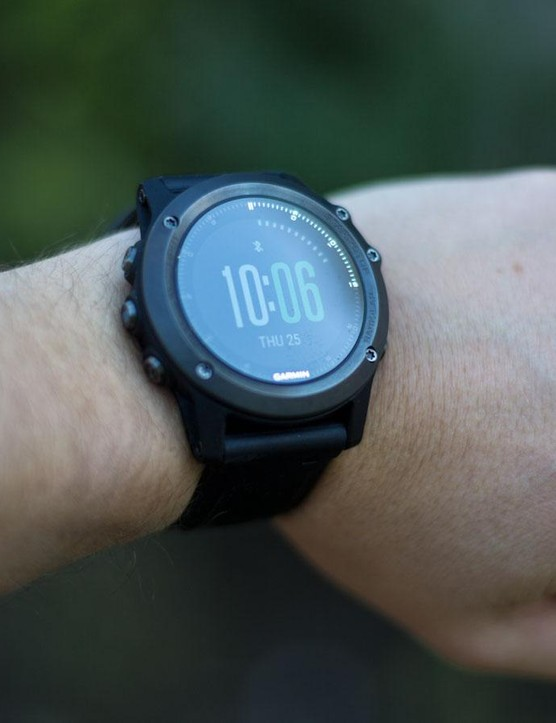 For this test we used Garmin's Fenix 3 HR