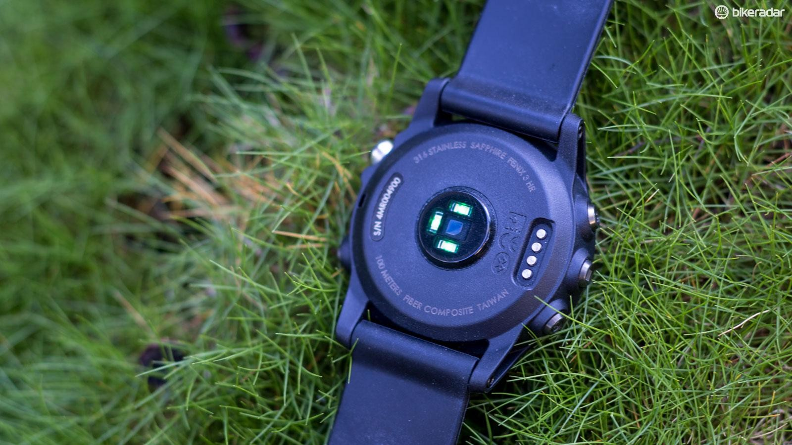 Some of the latest crop of watches have built-in optical heart rate