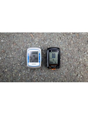 The Rider 310 is roughly the same size as a Garmin Edge 500 and weighs 5g less