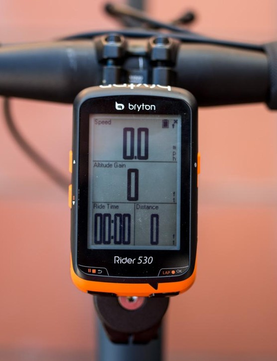 If one of your bikes doesn't have a power meter or any other sensor for that matter the 530 won't display a blank field