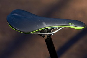 Fabric's Scoop Elite saddle is one of our favourite perches, especially when out munching the miles