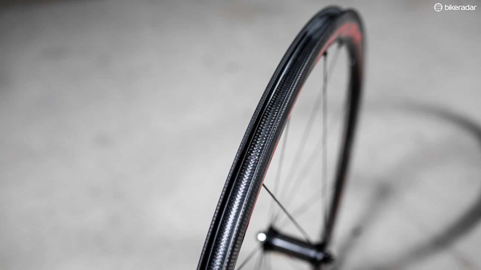 The tyre bed isn't drilled and unusually isn't tubeless compatible