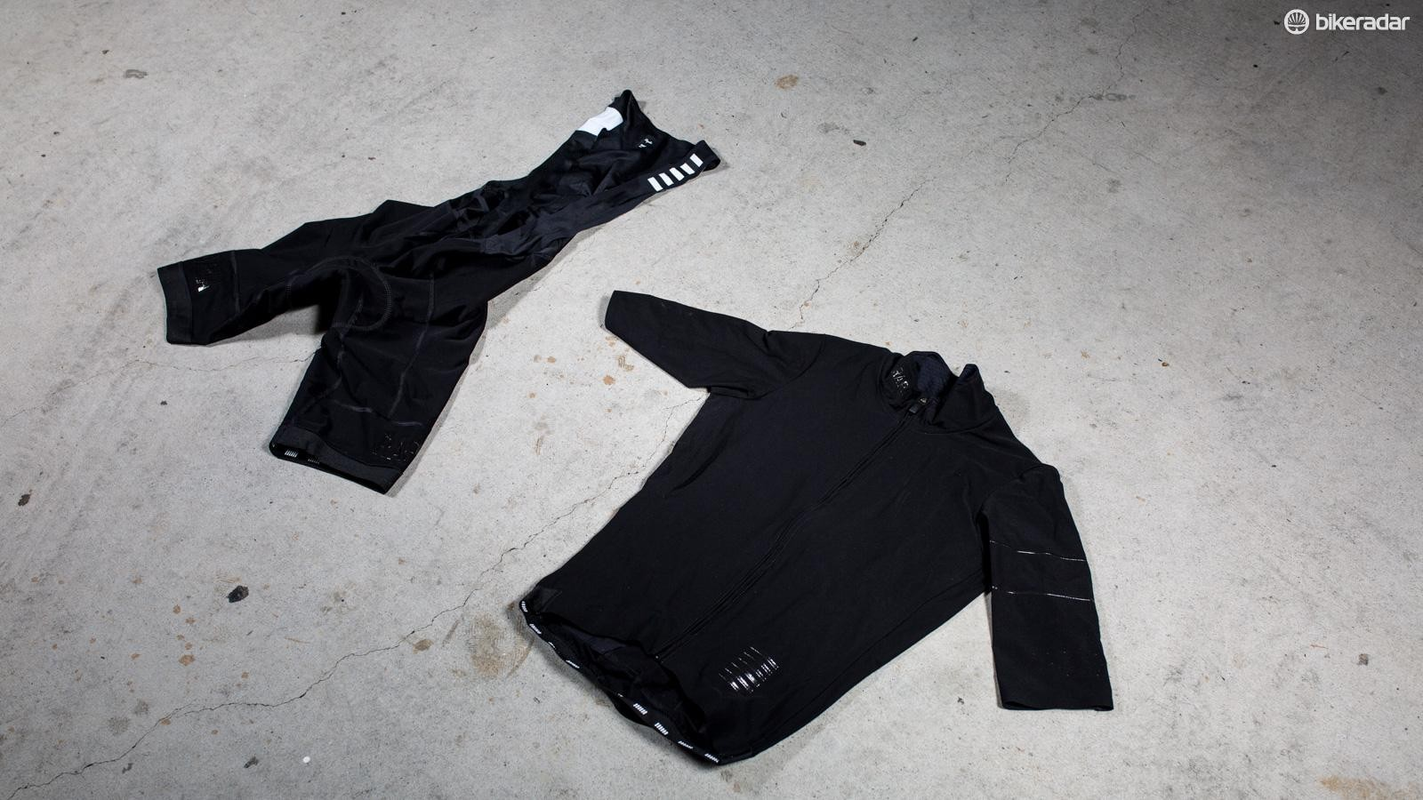 Rapha's Pro Team Shadow kit is desgined to keep the elements out