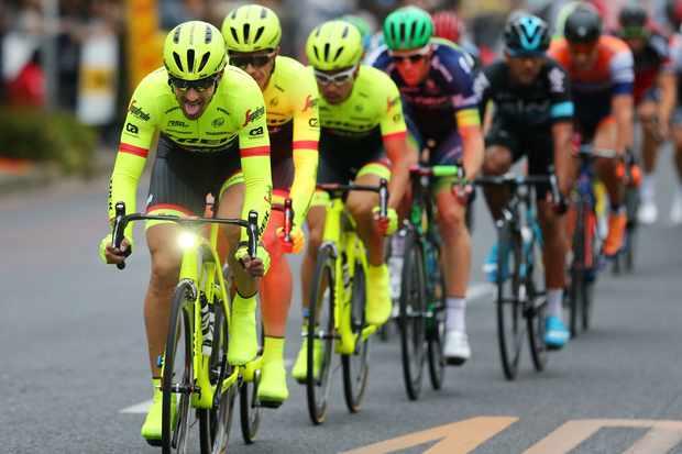 Trek-Segafredo chose to highlight rider safety at the Japan World Cup