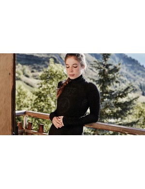 It's not new, but we're including HOY Vulpine's merino baselayer with a roll-neck, because it looks so cosy